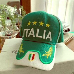 Accessories - Italia Adjustable Baseball Cap